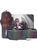 Клавиатура + мышь с ковриком Defender Anger MKP-019 RU