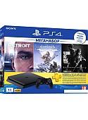 Игровая приставка Sony PlayStation 4 Slim 1TB Detroit + Horizon Zero Dawn + Last of Us