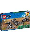 Конструктор LEGO City 60238 Железнодорожные стрелки