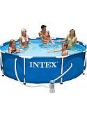 Каркасный бассейн Intex Metal Frame 305х76 (56999/28202)