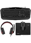 Клавиатура + мышь с ковриком + наушники SVEN GS-4300