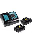 Аккумулятор с зарядным устройством Makita BL1815N + DC18SD (18В/1.5 а*ч + 7.2-18В)