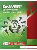 Система защиты ПК от интернет-угроз Dr.Web Security Space (3 ПК, 1 год)