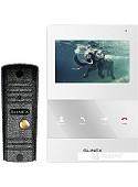 Комплект видеодомофона Slinex ML-16HR+SQ-04M (белый)