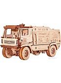 Сборная модель Eco-Wood-Art МАЗ-5309RR 1:30