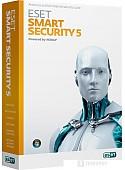 Система защиты ПК от интернет-угроз NOD32 Smart Security 5 (3 ПК, 1 год)