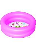 Надувной бассейн Bestway 61x15 (розовый) [51061]