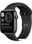 Умные часы Apple Watch SE Nike 44 мм (алюминий серый космос/антрацитовый, черный)